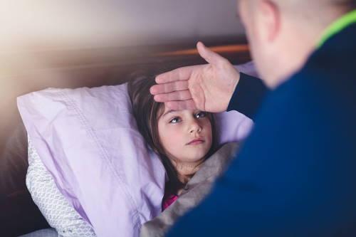 demam bisa jadi terpicu karena diare